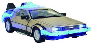 Delorean-toy
